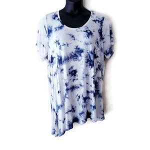 Avenue Blue Tie Dye Size 22/24
